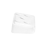 #GR-41 White Leatherette Ring Clip Display