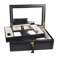 Luxury Jewelry Lockable Box-Nile Corp