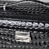 Leatherette Crocodile Pattern Jewelry Box