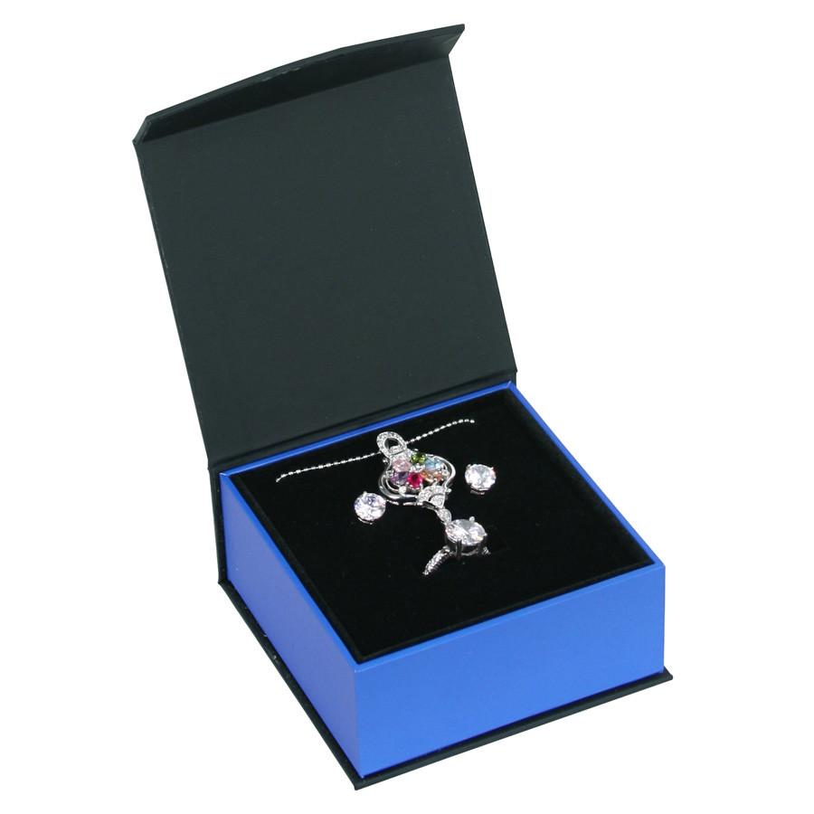 Deluxe Paper Ring and Pendant Box-Nile Corp