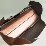 #PQ3E-CP Deluxe Copper Paper Earring Box | Nile Corp