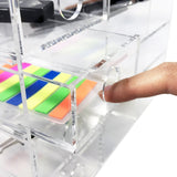Acrylic 6-Shelf Office Supply Desk Organizer. Made in Taiwan | Nile Corp