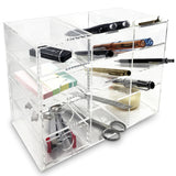 Acrylic 4-Shelf Office Supply Desk Organizer. Made in Taiwan | Nile Corp