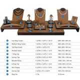 #SET46 Combination Jewelry Display Set