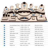 #SET9 Combination Jewelry Display 28 Piece Set | Nile Corp