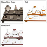 Leatherette Combination Jewelry Display Set | Nile Corp