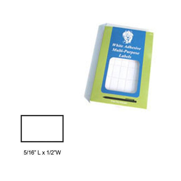 White Removable Adhesive Labels-Nile Corp