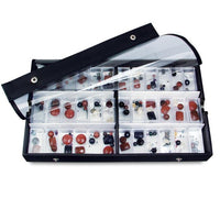 View Top Bead Display Tray With 6 Compartments. -Nile Corp