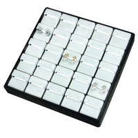 Plastic Jewelry Stackable Tray for 25 earrings-Nile Corp