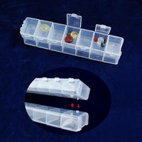 Plastic Organizer with 7 compartments-Nile Corp