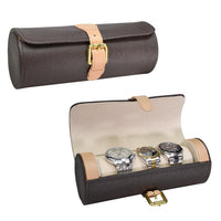 Leatherette Watch Storage Case -Nile Corp
