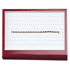 Bracelet Display Tray with Rosewood-Nile Corp