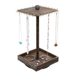 #WD2627-CF Rotating jewelry organizer