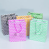 Mixed Chevron Pattern Tote Bags | Nile Corp