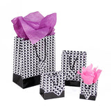 Houndstooth Paper Tote Bags | Nile Corp