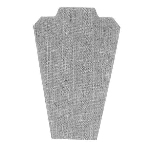 Earring & Necklace Easel Display, Gray Linen | Nile Corp