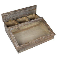 Antique Wooden Organizer Case -Nile Corp