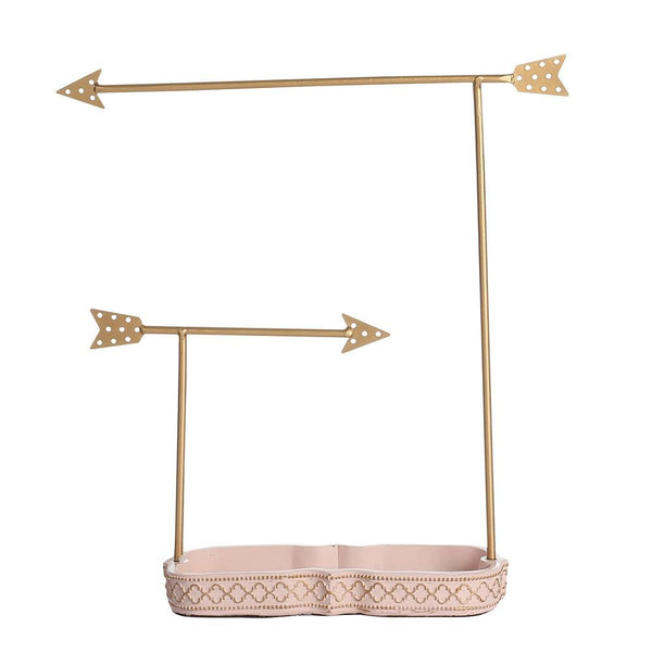 Metal Arrows Jewelry Display Organizer | Nile Corp