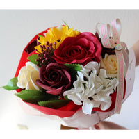Everlasting Scented Artificial Floral Bouquet Decorations-Nile Corp