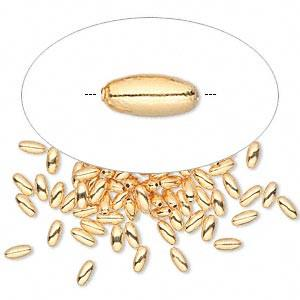 Brass Oval Beads-Nile Corp