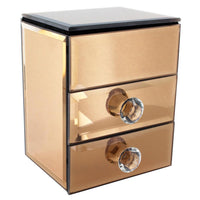 Glamorous Mirrored Jewelry Box | Nile Corp