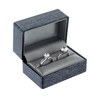 Elegant Texture Double Ring Plastic Boxes | Nile Corp