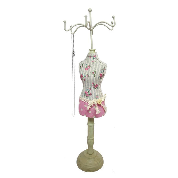 Fabric Covered Doll Display -Nile Corp