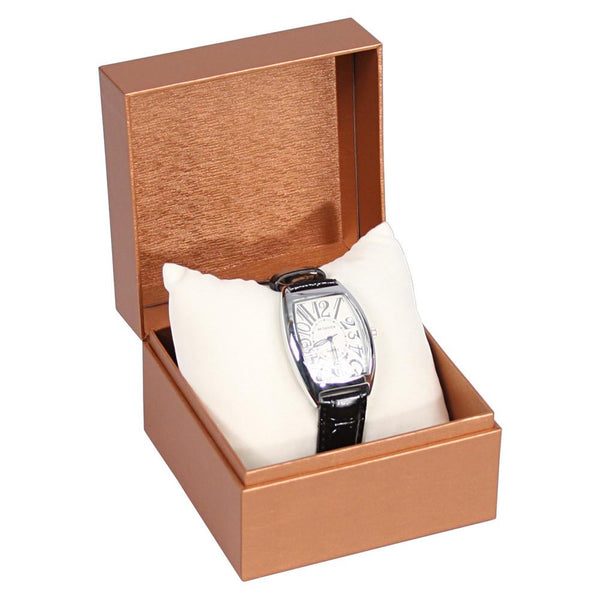 Deluxe Copper Paper Watch/Bracelet Box | Nile Corp