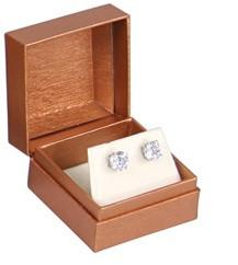 Deluxe Copper Paper Earring Box | Nile Corp