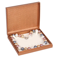 Deluxe Copper Paper Necklace Box | Nile Corp