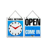 Open and Will Return Sign-Nile Corp