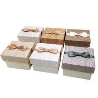 6 pcs Paper Bow Tie Watch Box Mixed Colors | Nile Corp