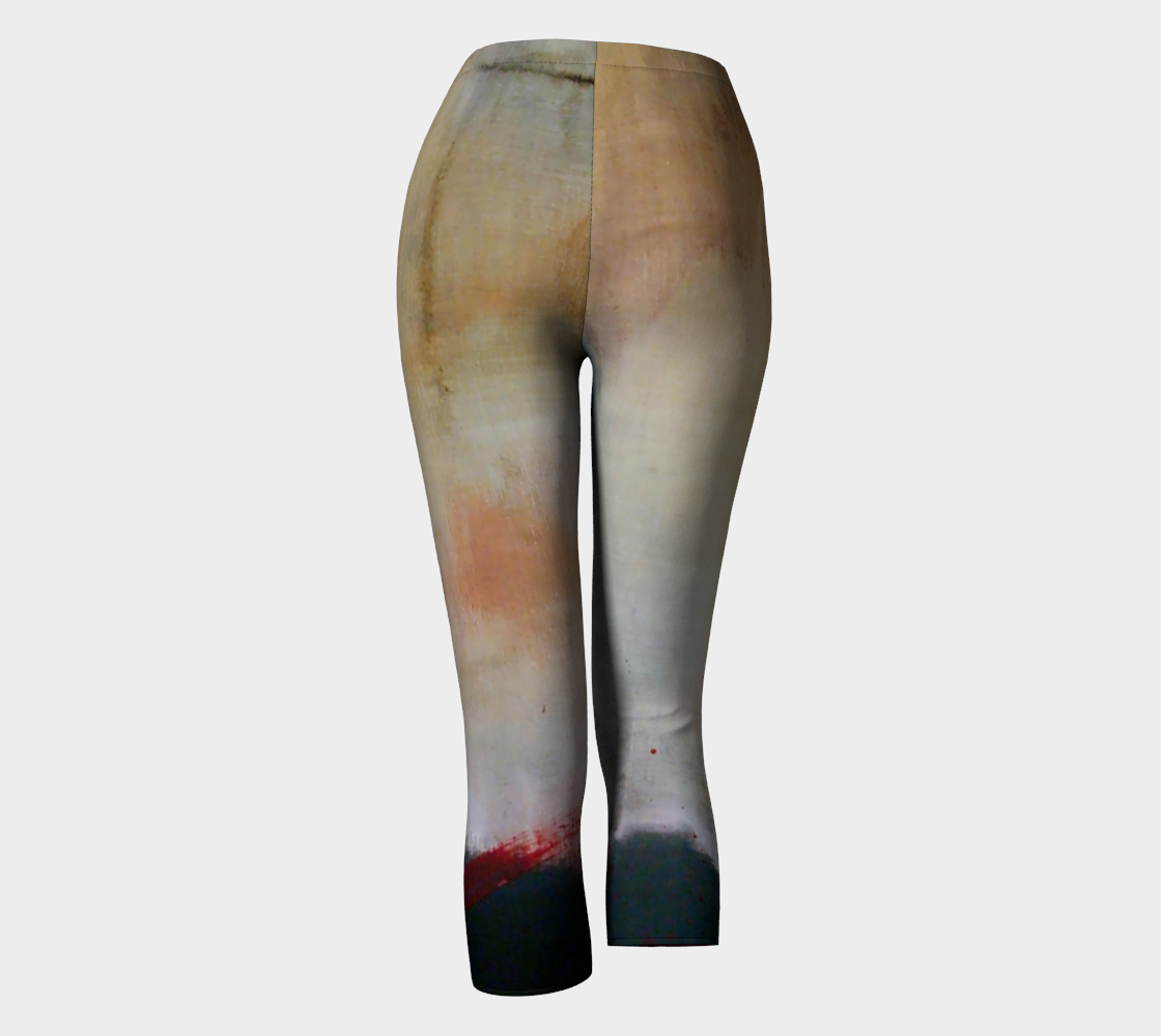 Capris Leggings - Earth Tones