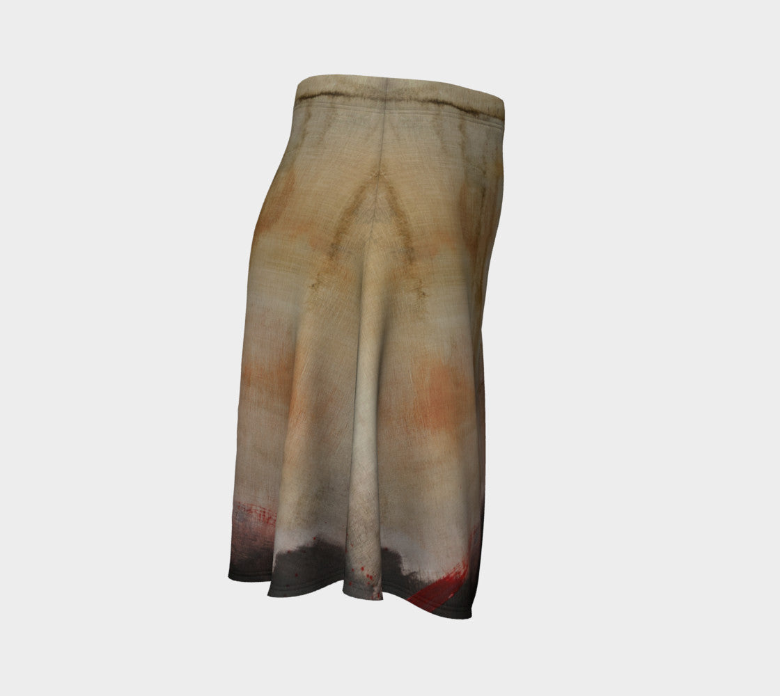 Flare Skate Skirt - Earth Tones