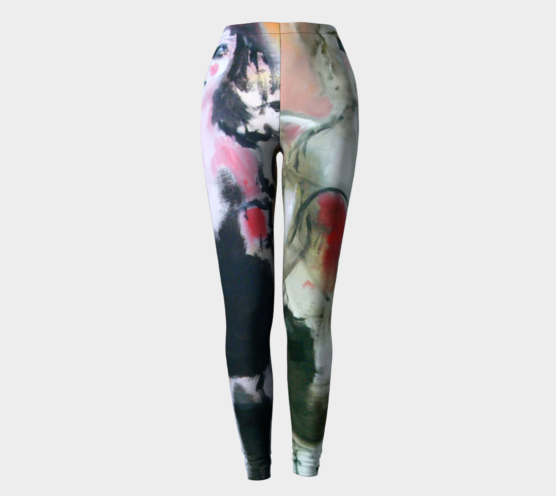 Happy, Happy Art Walk Leggings