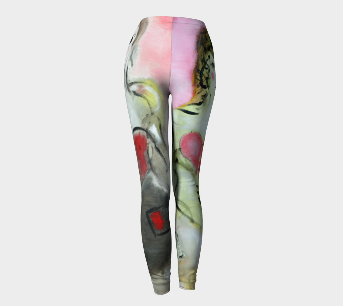 Art Walk Leggings - Sweethearts*