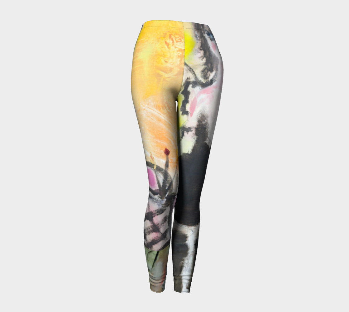 Brite Eyes Art Walk Leggings