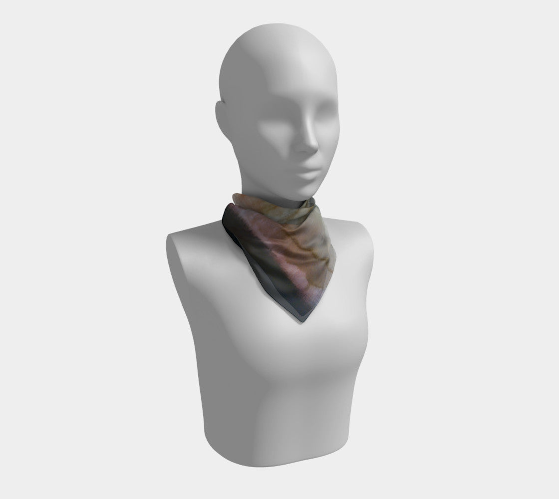 Art Scarf - Earth Tones