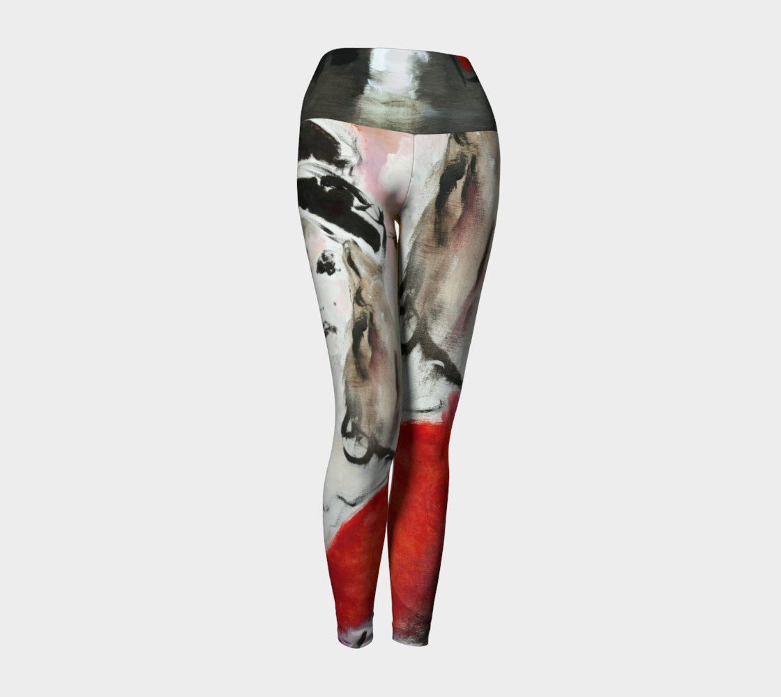 Art Walk Yoga Leggings - Cafè des Arts
