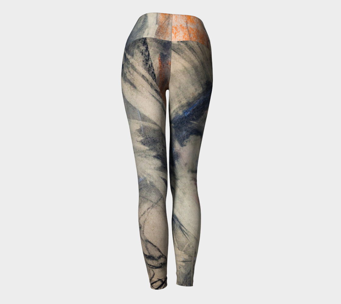 Au Musèe Yoga Leggings