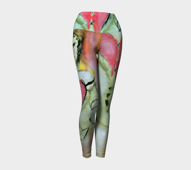 Sweet Heart Yoga Leggings