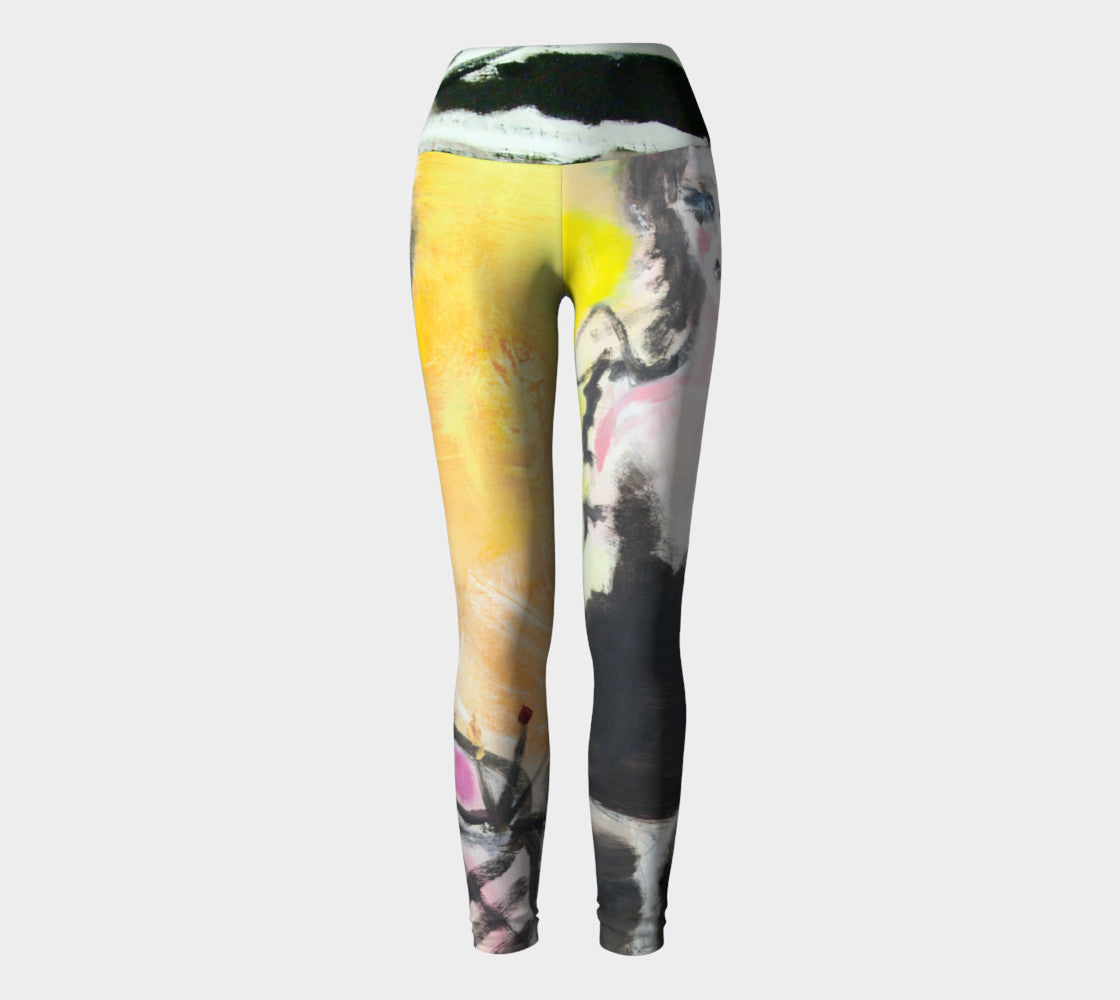 Brite Eyes Yoga Leggings