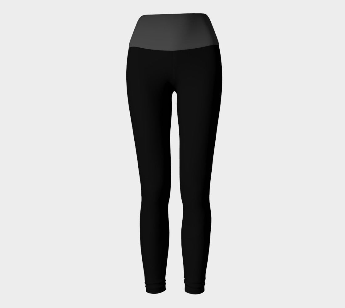 Black/Grey Yoga Leggings