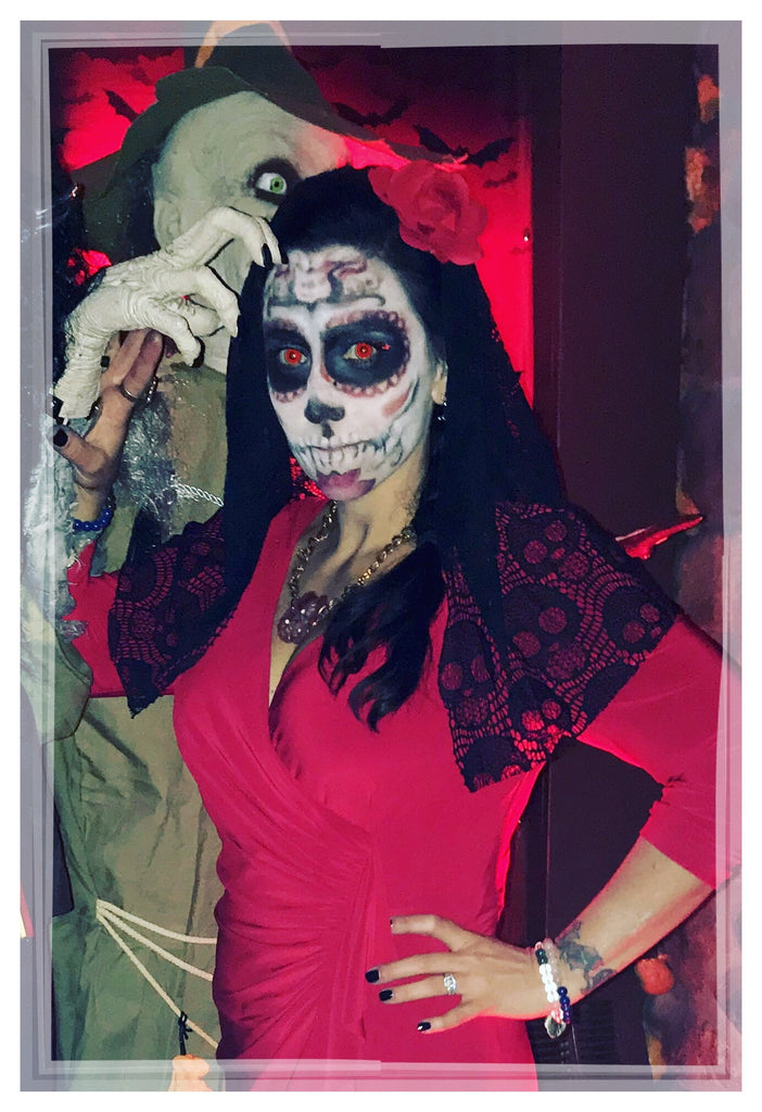 I Love Halloween! Check out my Day of the Dead make-up Transformations