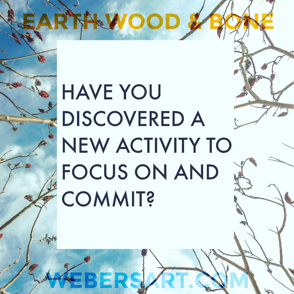 focus, commitment, commit30, earth wood bone