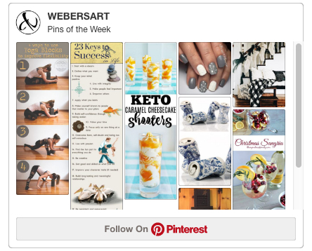 Weber's Art Studio's Pinterest Pins of the Week, Every Thursday on Earth Wood & Bone