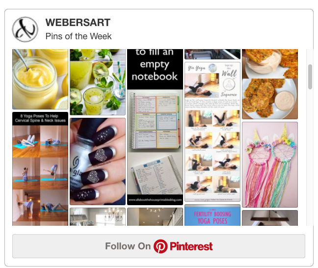 Pinterest Pins of the Week!