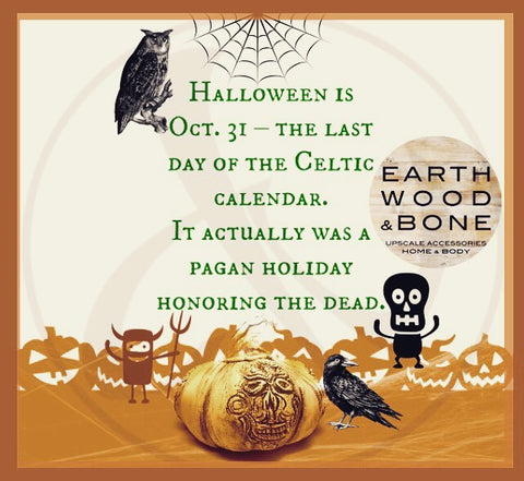 Discover Halloween History & Lore with the Weber's Art Studio Blog on Earth Wood & Bone!