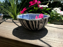 Birch Tree Small Porcelain Bowl