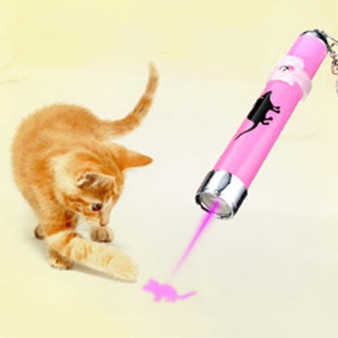 new arrivals creative and funny pet cat toys led laser pointer light